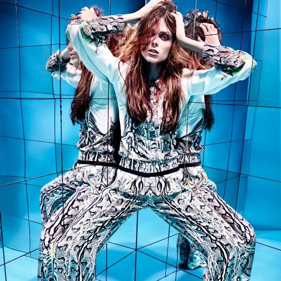 Coco Rocha Singing in Cavalli Video For Hunger Magazine
