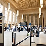 Gaze upon the architectural wonders of 30th Street Station.