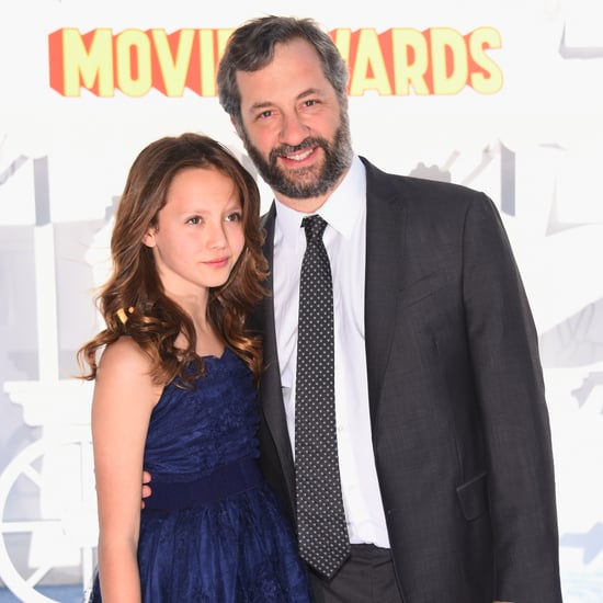 Judd and Iris Apatow at the MTV Movie Awards 2015