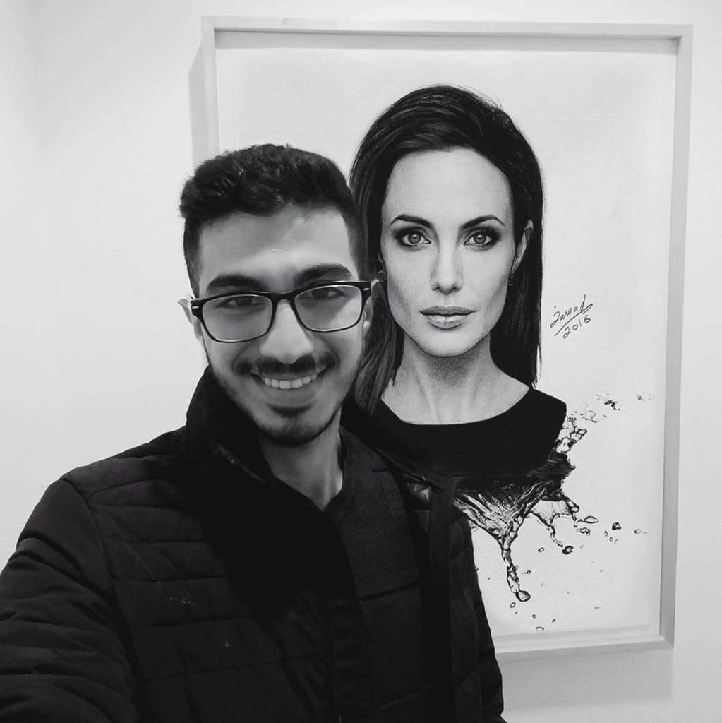Syrian Artist Who Draws Celebrities
