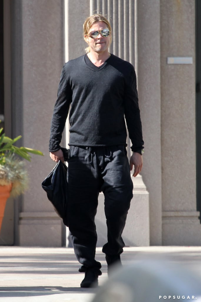 """Brad Pitt Emerges For The First Time Since Praising Angelina's """"Heroic"""" Health Choice"""