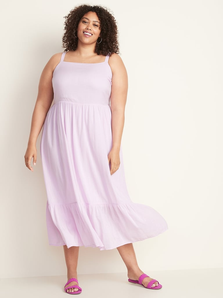 Fit & Flare Plus-Size Tiered Maxi Dress | Old Navy Summer Essentials ...
