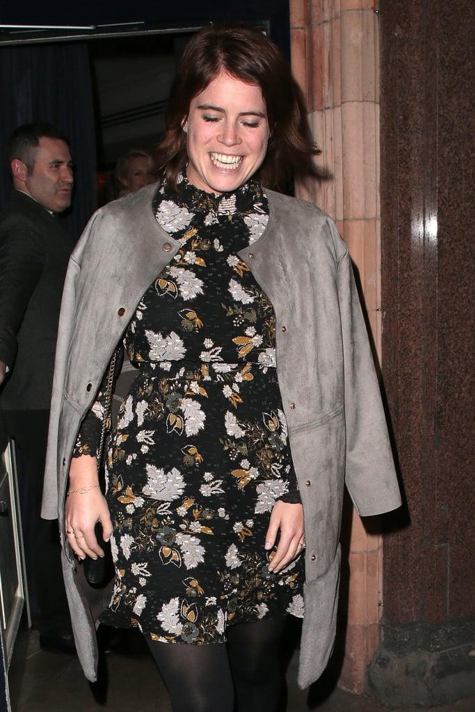 Princess Eugenie Floral Dress at Engagement Dinner