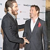 Jake Gyllenhaal stepped out for The Headstrong Project's first Words of War event in NYC.