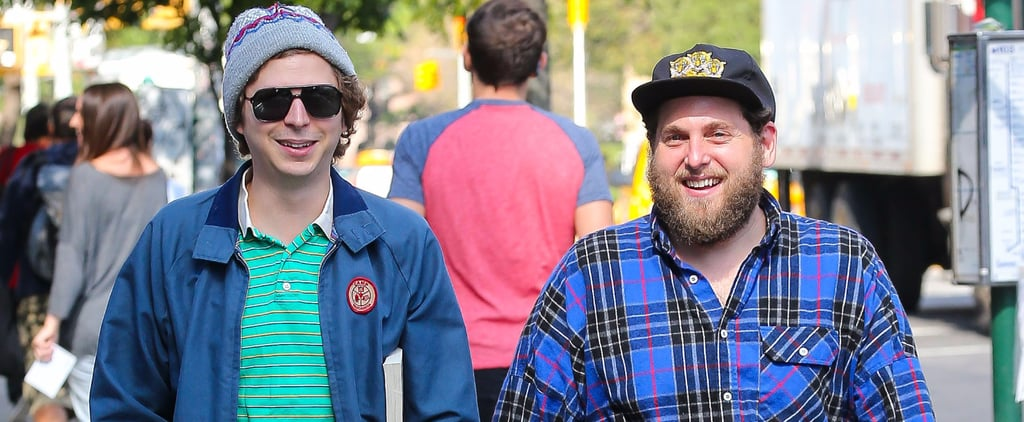 Michael Cera and Jonah Hill's Reunion in NYC Is Anything but Superbad