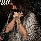 Kesha's Marble Nail Art