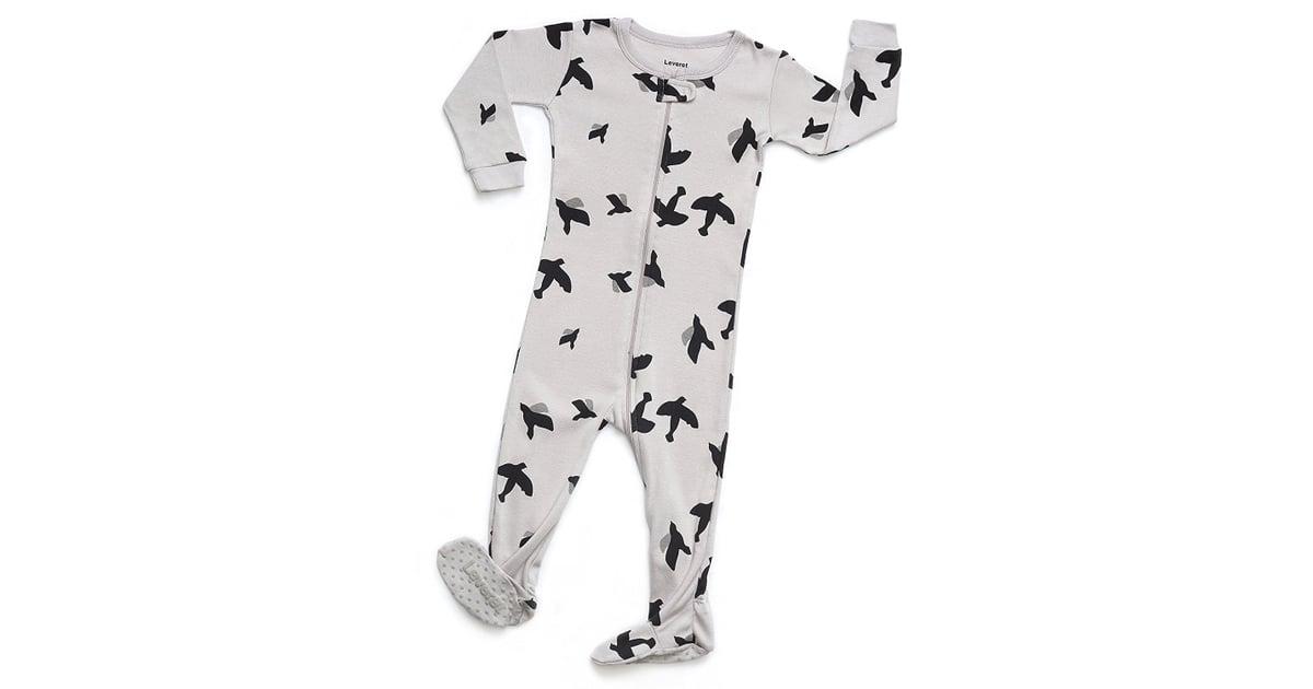 98ef34e9596c Leveret Baby Boys Girls Footed Pajamas Sleeper