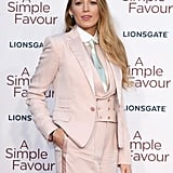 Blake Lively Comments About Double Standard of Wearing Suits