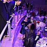 Leslie Jones With Ryan Reynolds at Time 100 Gala 2017