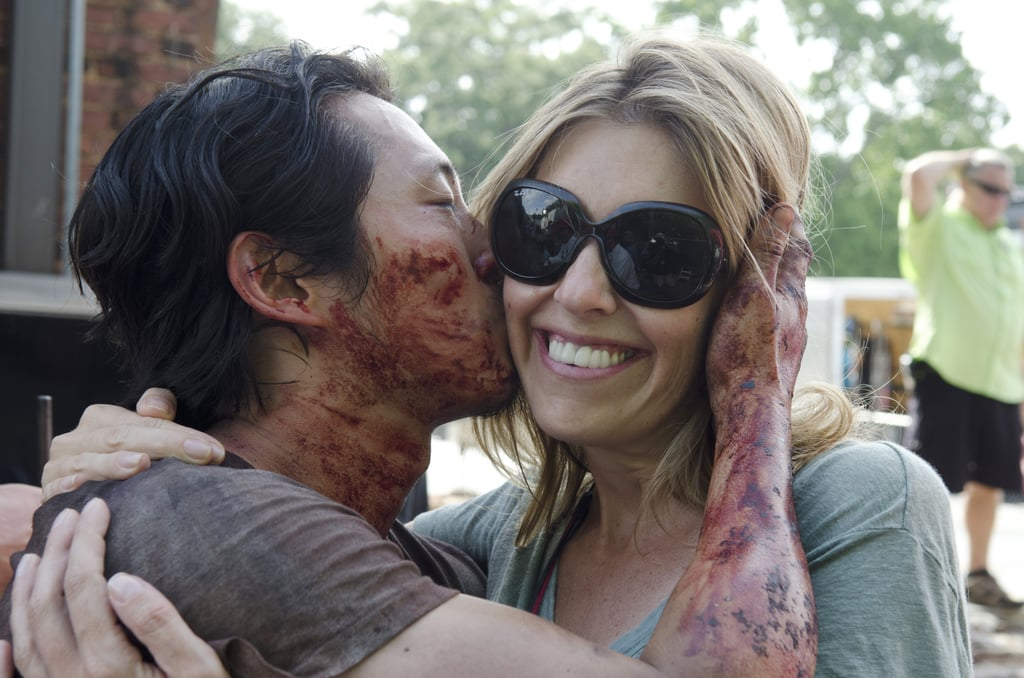 Fact: Glenn Loves to Give Bloody Kisses