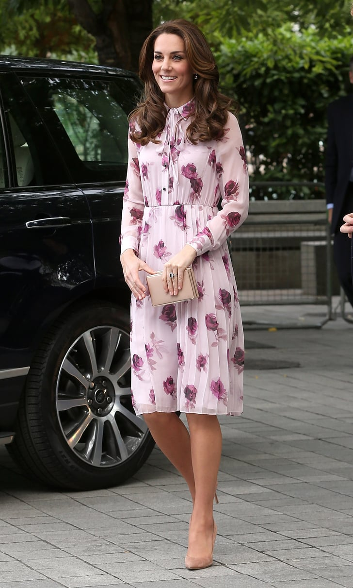 Kate Middleton Kate Spade Dress World Mental Health Day 2016 Popsugar Fashion Photo 12