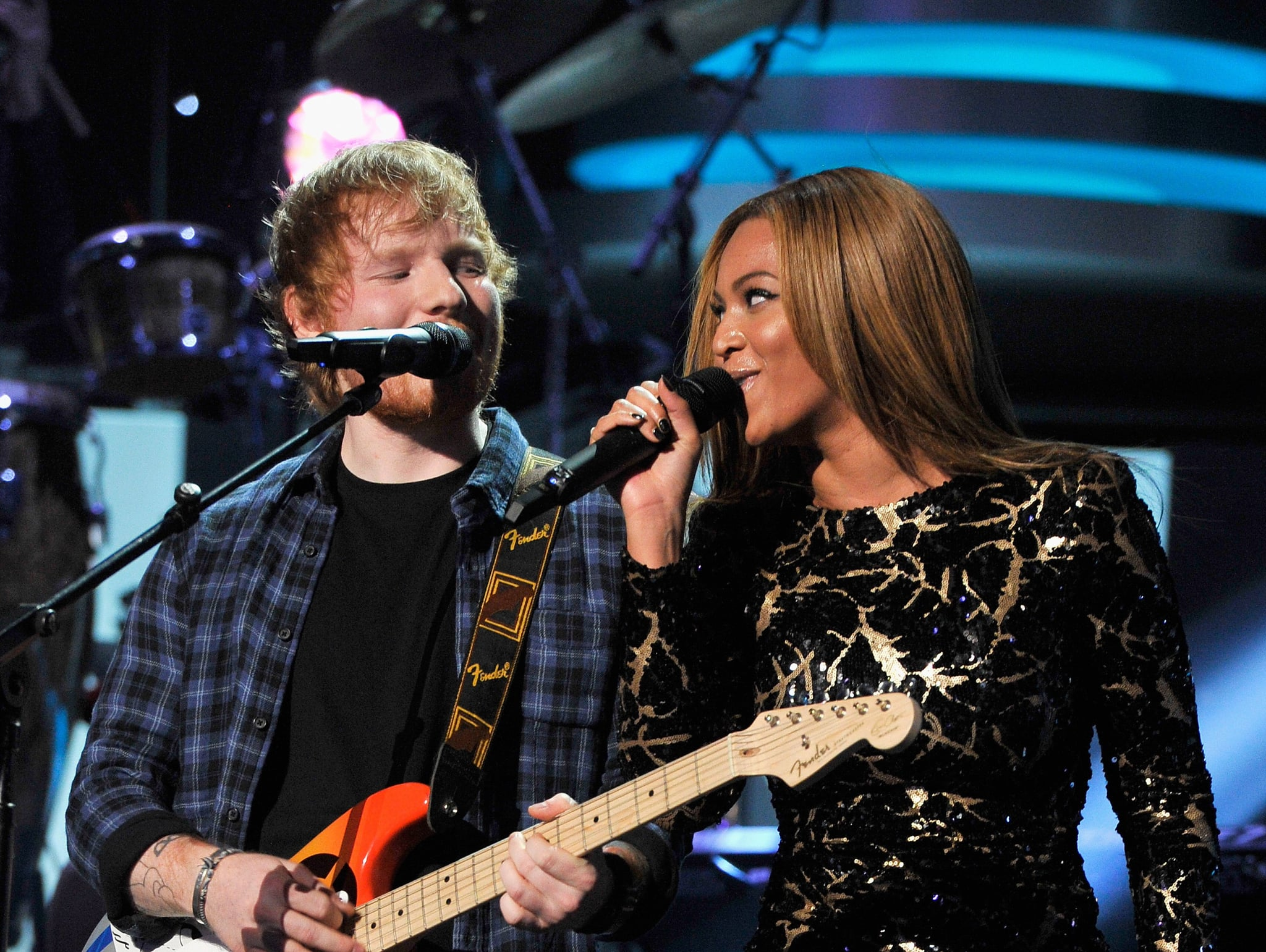 Ed Sheeran duets with Beyonce