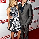 Anna Paquin and Stephen Moyer Attend a Great British Oscars Bash