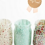 Fabric Candle Holders