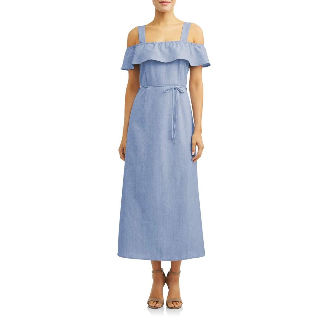 Love Sadie Front-Slit Maxi Dress