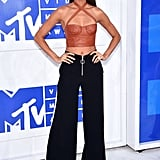 At the VMAs in New York City on Aug. 28.