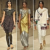 See all the gorgeous and exotic looks from Chanel's Pre-Fall 2012 collection.