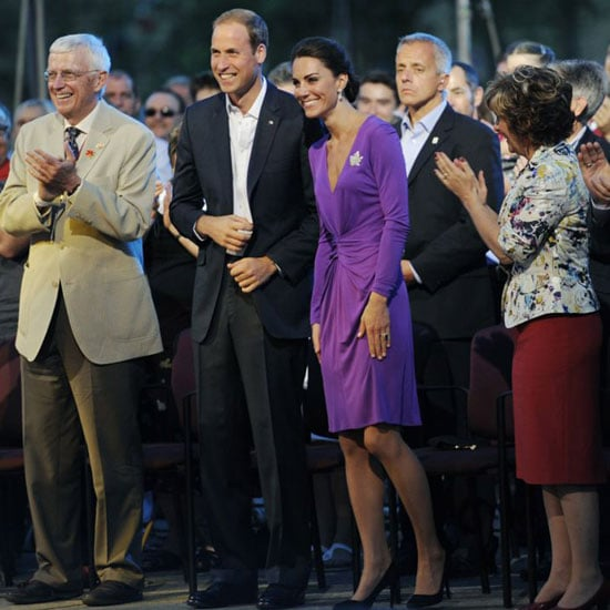 Kate Middleton in Issa Pictures With Prince William in Ottawa