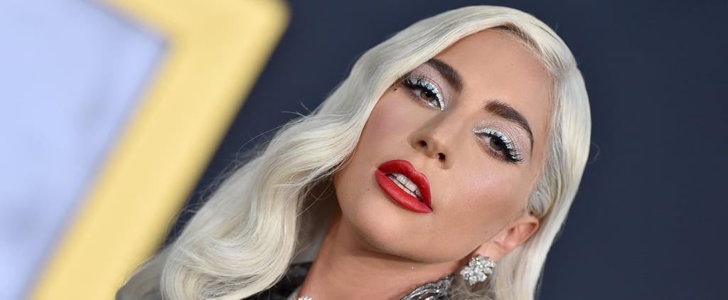 Lady Gaga's Icy Blue Holiday Nail Polish