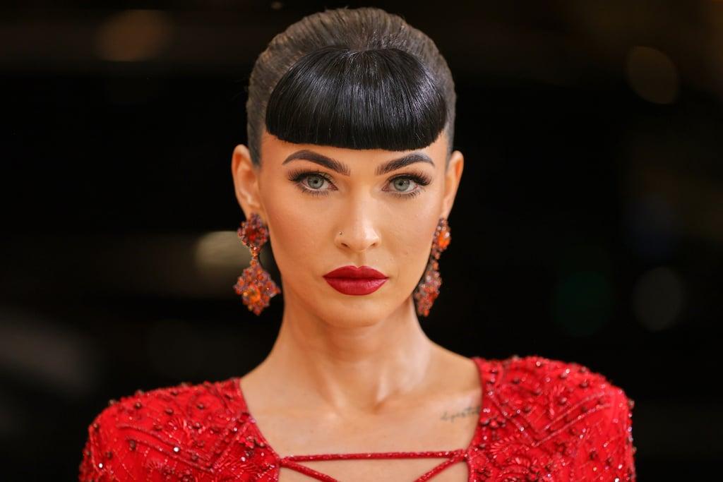 See Megan Fox's Baby Bangs at the Met Gala 2021