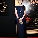 The same month, she attended a special screening of Far From the Madding Crowd at The Paris Theatre in New York.