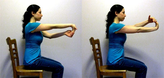 Work It Girl: One-Arm Assisted Wrist Stretch