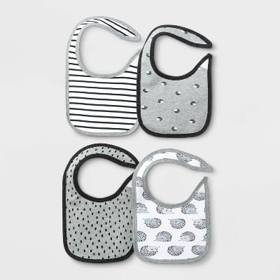 Cloud Island 4-Pack Bib Set