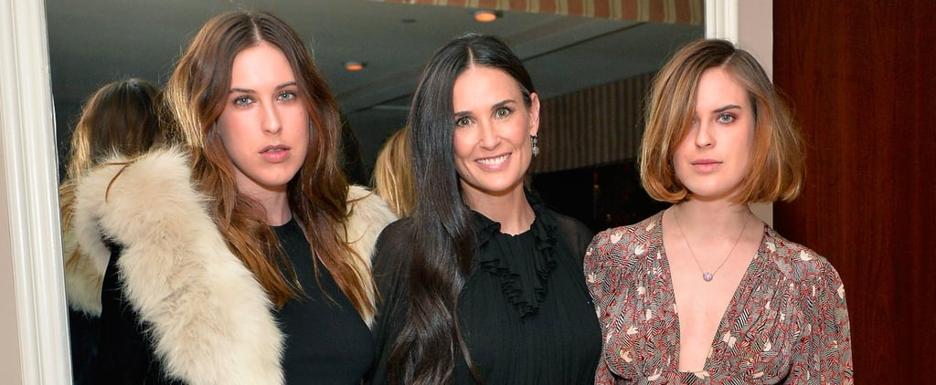 Demi Moore and Daughters Scout and Tallulah Are 3 of a Kind on the Red Carpet