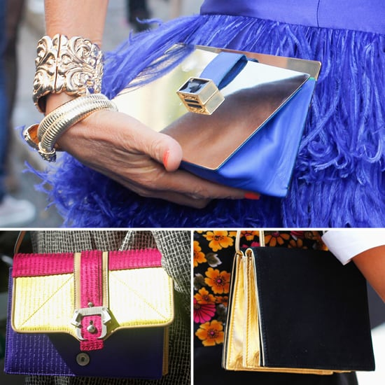 Shop High-Shine Bags From Milan Fashion Week Street Style