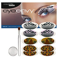 ColorOn Eye Envy Press-on Makeup Eye Shadow Review with Pictures