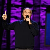 Louis C.K. was onstage at the Night of To Many Stars benefit in NYC