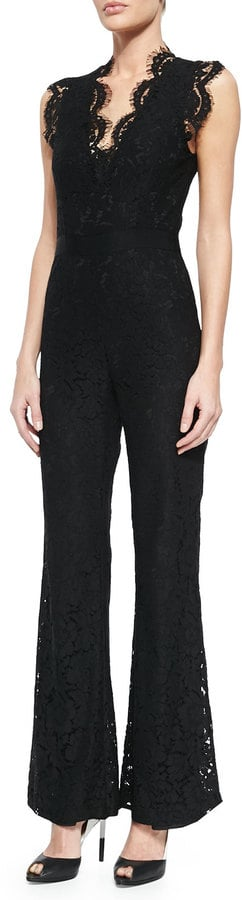 Rachel Zoe Reesa Scalloped Lace Jumpsuit ($495)