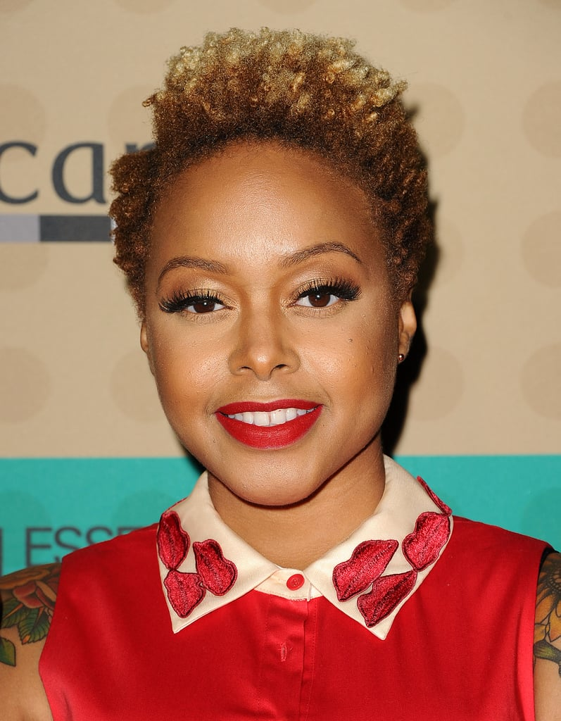chrisette michele hair styles hair amp at 2014 pre grammys lorde 9772