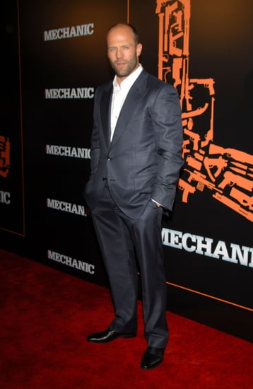 Pictures of Jason Statham Mini Anden and Ben Foster and Jon Foster at The Mechanic Premiere