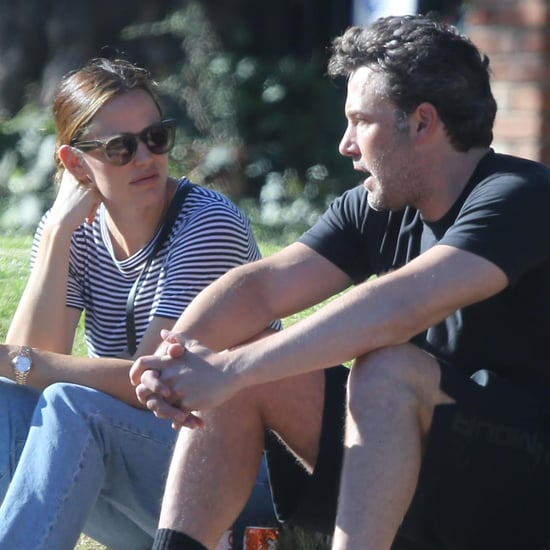 Ben Affleck and Jennifer Garner Out in LA September 2016