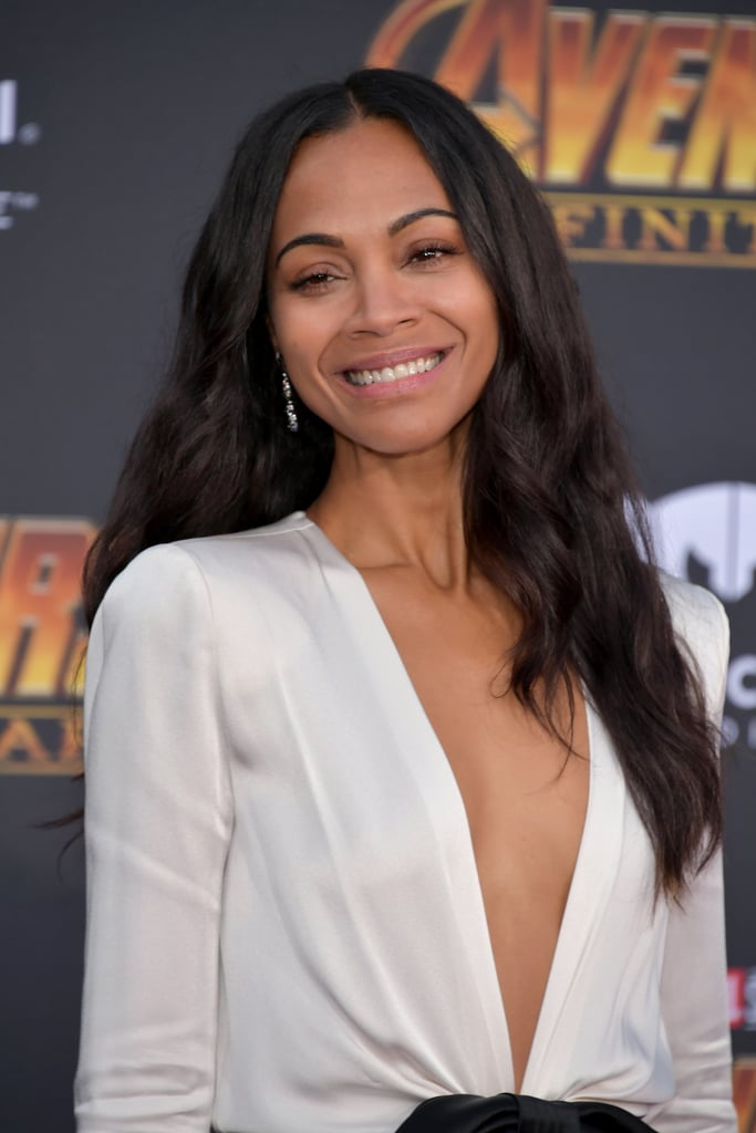 Pictured: Zoe Saldana | Celebrities at Avengers Infinity ...