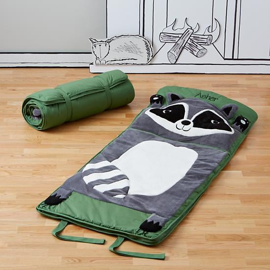 For 3-Year-Olds: The Land of Nod's How Do You Zoo Raccoon Sleeping Bag
