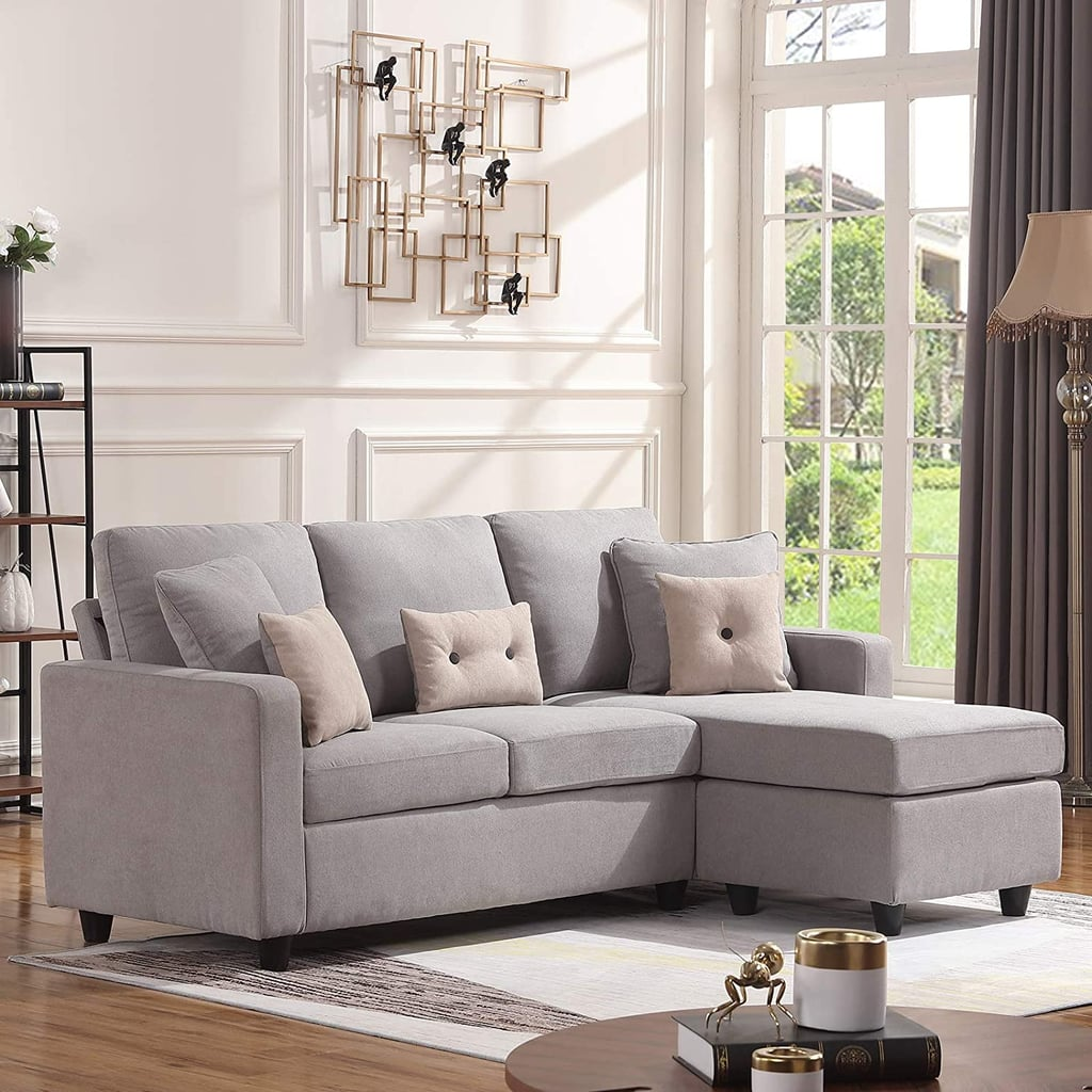 Honbay Convertible Sectional Sofa Couch