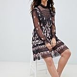 Needle & Thread Embroidered Lace Dress