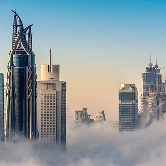 حالة الضباب في الإمارات خلال شهر فبراير 2018