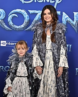 Selena Gomez and Her Sister Gracie Were Twinning in Marc Jacobs at the Frozen 2 Premiere