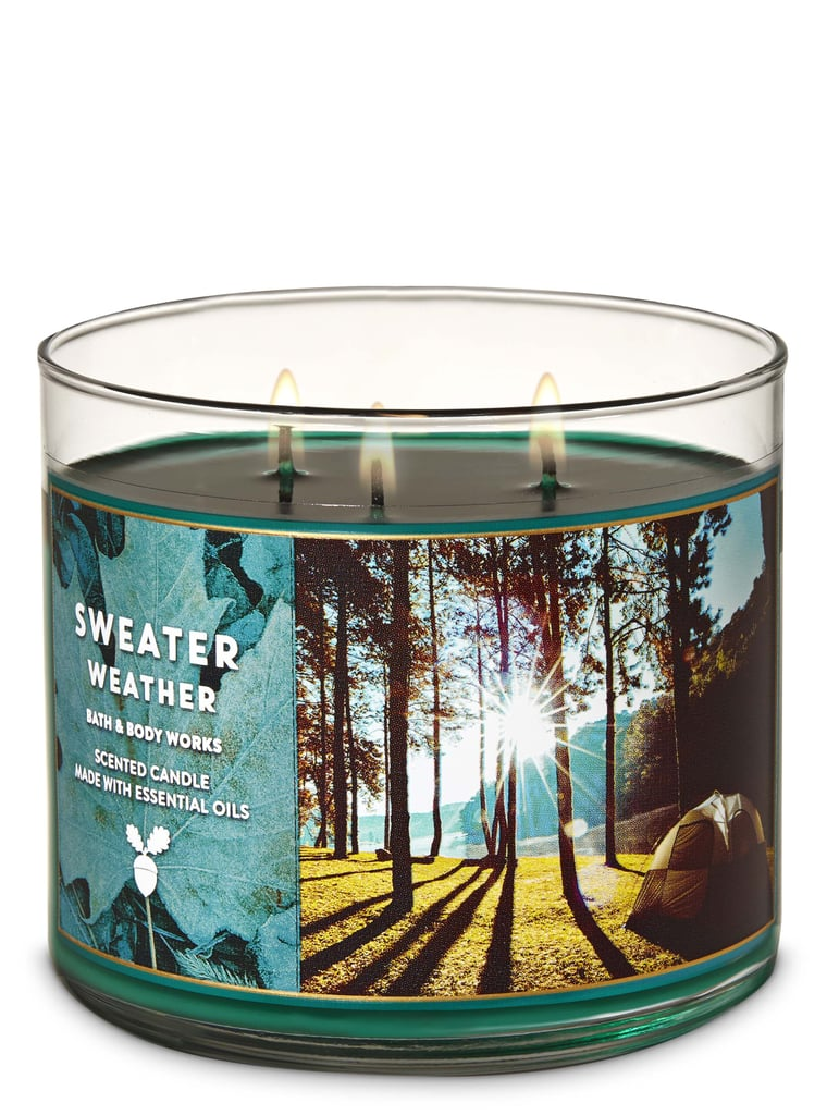 Bath And Body Works Sweater Weather 3 Wick Candle Fall Bath And Body Works Products 2019