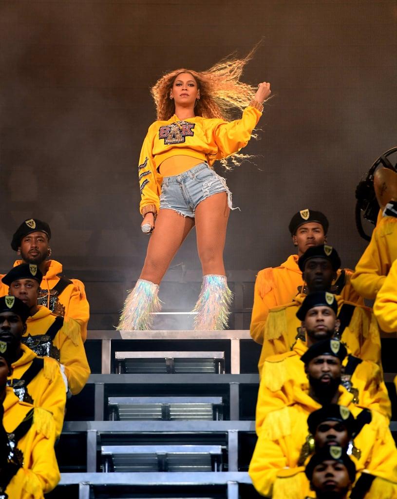 Beyonce S Performance Outfit Coachella 2018 Popsugar Fashion