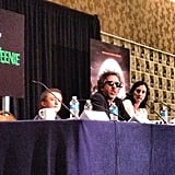 We got the scoop on Frankenweenie at a press conference for the movie — with Tim Burton!