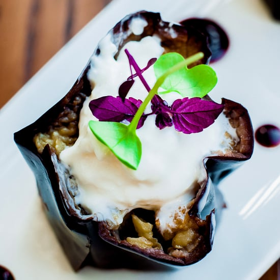Fried Eggplant Glazed in Soy and Honey With Burrata Recipe