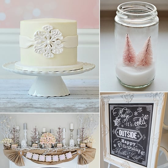 A Magical Winter Wonderland Birthday Party