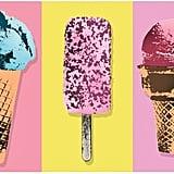 Ice Cream Kitchen Mat
