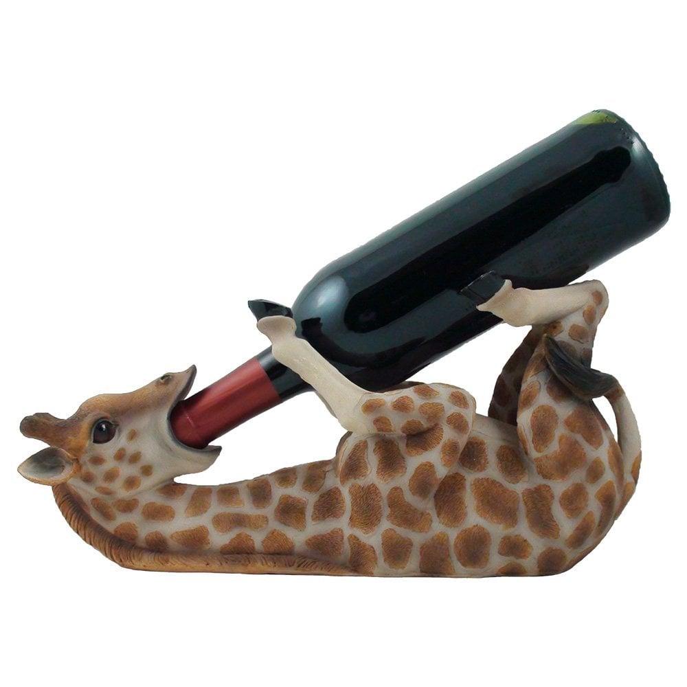 Drinking Giraffe Wine Bottle Holder ($16)