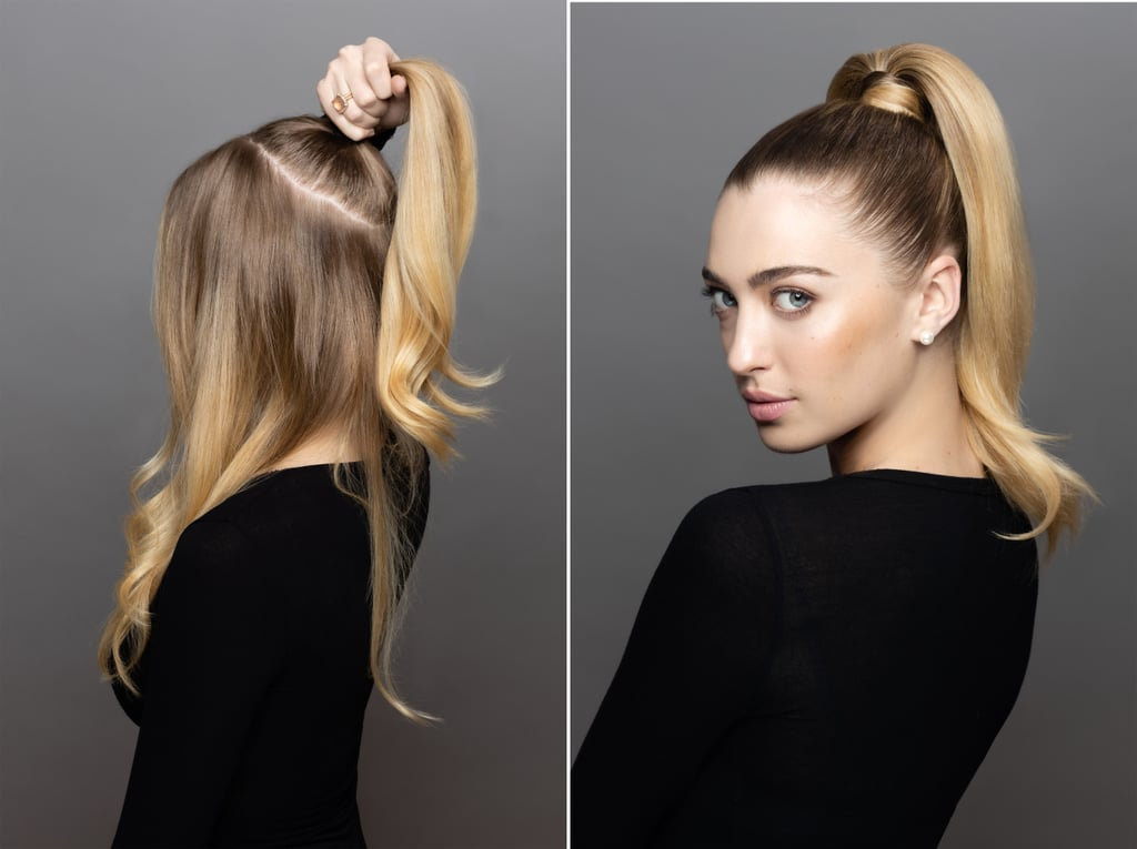 Prom Hairstyle: Sleek, Pumped-Up Ponytail