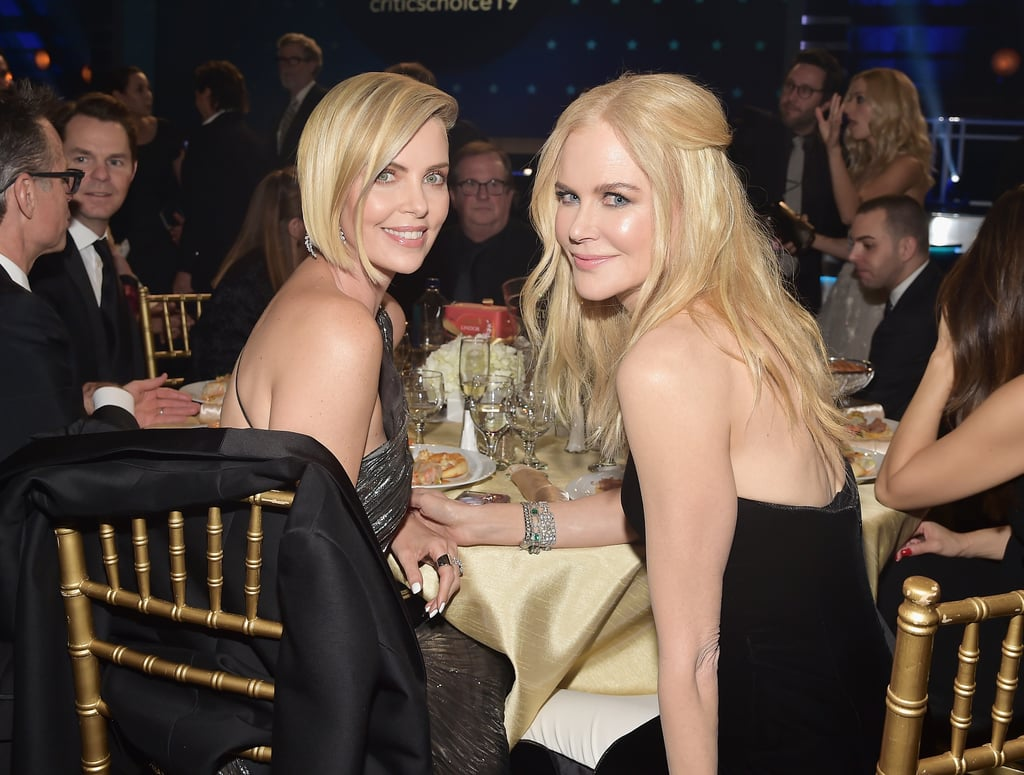 Pictured: Charlize Theron and Nicole Kidman